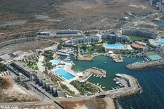 Anfeh, a huge & beautiful hotel complex