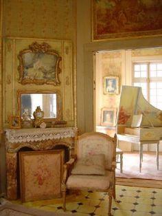 boudoir du château XVIIIe, Lea Frisoni