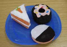 How to make pretend fake food for the kid's bakery