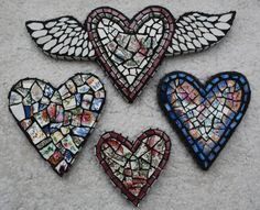 Mosaic Hearts                                                                                                                                                                                 More