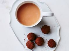 Pastry expert Dominique Ansel takes the extra step to greatness: His Armagnac-spiked truffles are dipped in melted chocolate before being dusted with