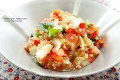 몸이 가벼워지는 퀴노아 샐러드 만들기 – 레시피   Daum 요리