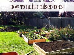 raised garden beds for $35