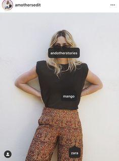 Muscle Tanks, Boho Shorts, Zara, Shoulder, T Shirt, Collection, Women, Fashion, Supreme T Shirt