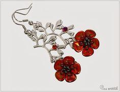Spirala beading: Rose Petal Beads