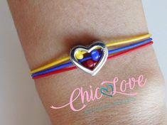 Pulsera de Colombia Colombian Bracelet Bracelet Flag of