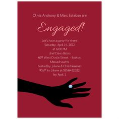 Engagement Invitations. Printable Engagement Party Invitation. Customize online and download the PDF file 3 USD/ month - unlimited downloads