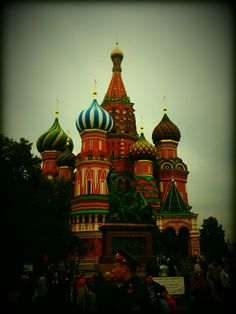 TDT - 1 - Moscou - Place Rouge