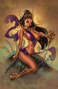 J. SCOTT CAMPBELL Pin-Up Art Gallery: Cry Havoc And Let Slip The Babes Of War | BAD HAVEN