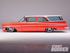 1959 Chevy Impala And Biscayne Brookwood Wagon #ClassicCars #CTins #chevroletimpala1959