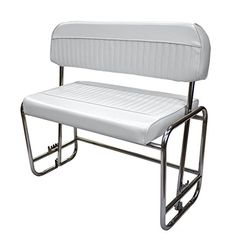 Wise 8WD155P-784 Stainless Steel Swingback Seat, Cuddy Brite White -- Be sure to check out this awesome product.