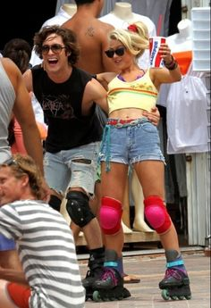 Julianne Hough & Diego Boneta in Rock of Ages