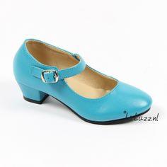 Spaanse schoenen blauw www.laluzz.nl