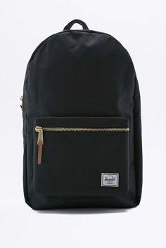 3faee97d4e02 Herschel Supply co. Settlement Black Backpack