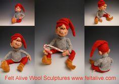 felt-alive-elf-doll-needle-felted | Flickr - Photo Sharing!