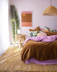 Dream Home Interior .Dream Home Interior Bedroom Inspo, Home Bedroom, Bedroom Decor, Decor Room, Wall Decor, Bedrooms, 60s Bedroom, Funky Bedroom, Design Bedroom