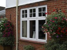 We supply and install uPVC windows to replace older uPVC windows, original timber windows and aluminium windows in home improvement projects, extensions and new build properties. Timber Windows, Aluminium Windows, Casement Windows, House Windows, Windows And Doors, Craftsman Decor, Craftsman Exterior, Craftsman Windows, Victorian Windows