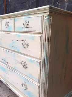 Antique SLIGH cottage wood Dresser by SKYLIMIT00 on Etsy