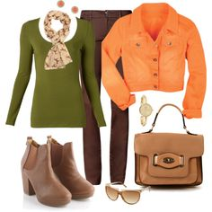 From Fifty, not Frumpy Style Blog!  A beautiful Fall outfit!