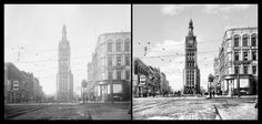 History Restored: Milwaukee City Hall  We love history. And we believe the best way to connect you to it is to provide you with clear, crisp images that truly take you back in time.  #HistoryRestored #Milwaukee #historicpictoric #history #historic #historical