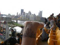 Pittsburgh skyline tattoo...I think I want one