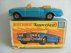 Rolls Royce Coupe - Matchbox SuperFast (70s) #thinkigotit #nobox