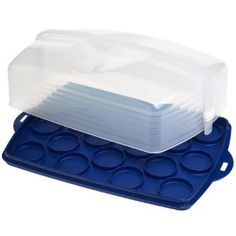 Rectangular Cake Taker Tupperware cakepins.com
