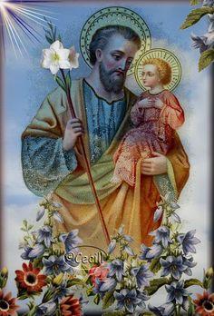 Imágenes de Cecill: Estampas de San José Patriarca