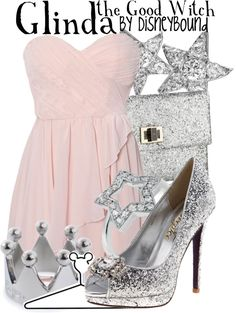 """""""Glinda the Good Witch"""" by lalakay ❤ liked on Polyvore"""