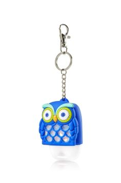 Boy Owl - PocketBac Holder - Bath & Body Works - Keep the germs owl-way this season! This convenient holder attaches to your backpack, purse & more so you can always keep your favorite PocketBac close at hand.