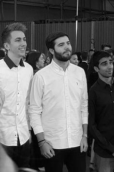 Josh, Simon & Vikk at Laid in America Premiere