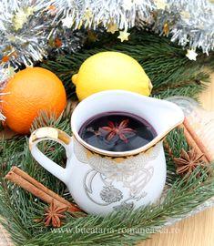 Vin fiert Romanian Food, Juice Drinks, Mulled Wine, Good Food, Entertaining, Dishes, Mugs, Tableware, Drink Recipes