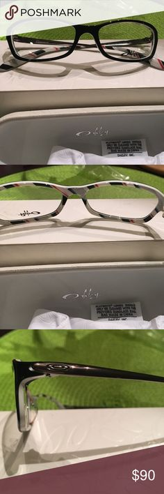 51aeda9a5ea Shop Women s Oakley Black size 52 Glasses at a discounted price at Poshmark.  Sold by Fast delivery