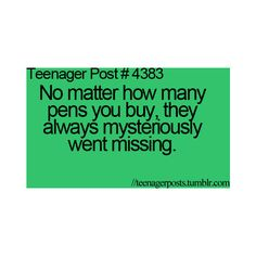 TEENAGER POST found on Polyvore