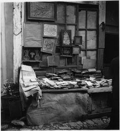 Book dealer - Istanbul, 1936 - Nicholas V. Artamanoff collection, Smithsonian Institute