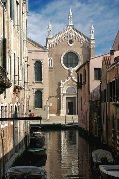 15th century Chiesa della Madonna dell'Orto - sestiere Canareggio, Venice