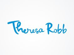logo for Theresa Robb by antitomi