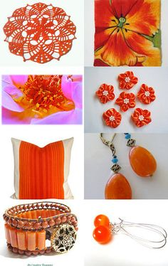 Orange You Glad Summer is Here! by Maries Crochet Corner