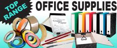 We supply a wide variety of Office Supplies.. Take a look through the range by visiting www.directa.co.uk