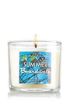 Summer Boardwalk 4 oz. Small Candle - Slatkin & Co. - Bath & Body Works