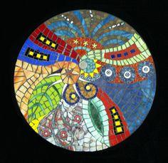 Entangled Stained Glass Mosaic Mandala