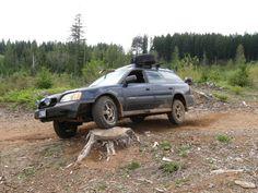 Subaru on the off-road