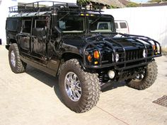If money was no option....Black Hummer H1 tricked out