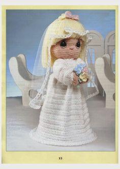 LA Precious Moments Dolls to Crochet Book 2