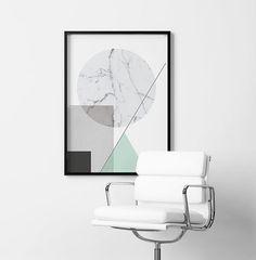 plakaty-PLAKAT GEOMETRIC - skandynawski styl