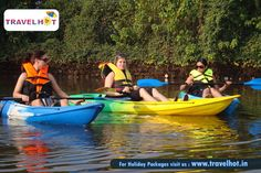Boating is very famous in Goa....Enjoy your weekend