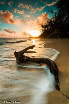 Sunrise on Bath Beach, Barbados