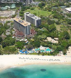 Hale Koa Hotel on Wakiki Beach....so beautiful....prettier than the Hilton!