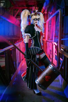 Ryoko Demon as Steampunk Harley Quinn
