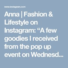 323 Likes, 11 Comments - Anna Pop Up, Wednesday, Goodies, 21st, Glow, Anna, Lifestyle, Night, My Style